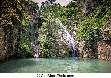 Kaya Bunar Waterfall, Bulgaria