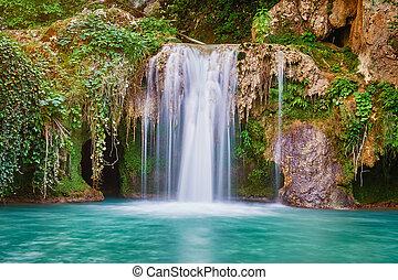 Waterfall in Bulgaria
