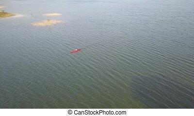 Kayak in the swamp
