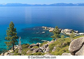 Lake Tahoe - kayak on Lake Tahoe