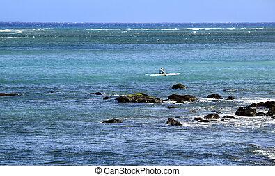 Kayak on the Pacific
