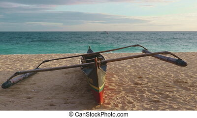 kayak on warm sand philippines, boracay island - Kayak on ...