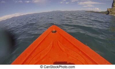 Kayak POV Adventure on the Lake