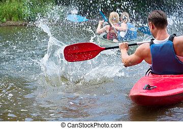 kayaking, 人们