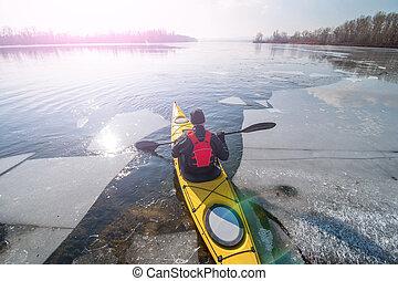 kayaking, en, ucrania