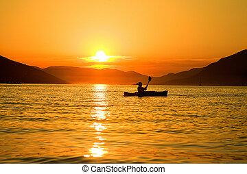 Kayaking in Montenegro