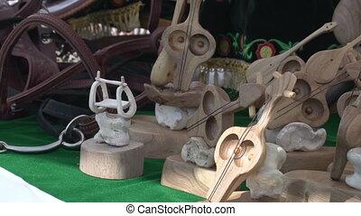 Kazakh Folk Art - Holiday Fair in honor of the capital....