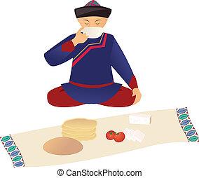 Kazakh over lunch