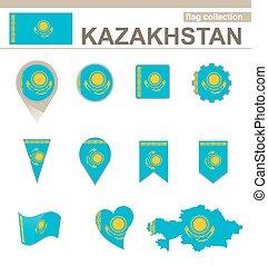 Kazakhstan Flag Collection