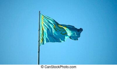Kazakhstan flag.