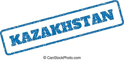 Kazakhstan Rubber Stamp