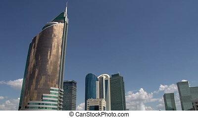 Kazakhstans Capital Astana - Central boulevard for...