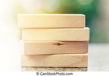 kazal, közül, a, wooden apró, helyett, szabad activities