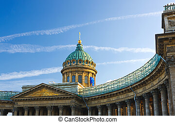 kazan, 大教堂, 圣彼得堡, russia