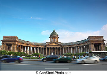 Kazan Cathedral on Nevsky Prospekt in St. Petersburg