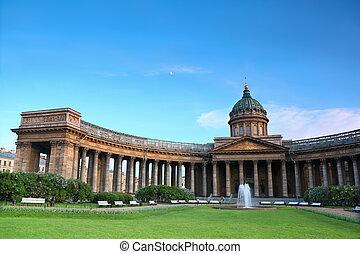 Kazan Cathedral on Nevsky Prospekt in St. Petersburg, Russia