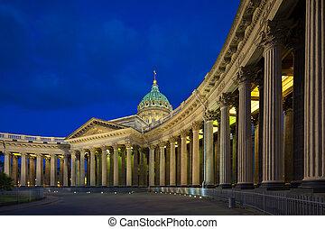 Kazan Cathedral. St. Petersburg - Kazan Cathedral in St. ...