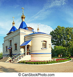 Kazan Mother of God Cathedral, orthodox church in Eastern ...