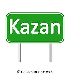kazan, muestra del camino