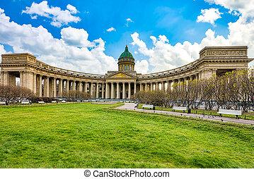 Kazan Temple - greatest architectural creation. Saint ...