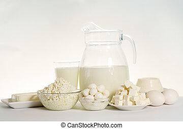 kazen, melk, variëteit