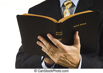 kaznodzieja, biblia
