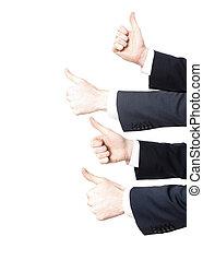 kciuki do góry