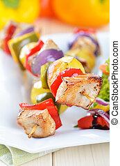 kebab, shish