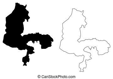 Kebbi State map