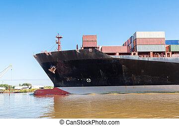 Keel of Massive Freighter