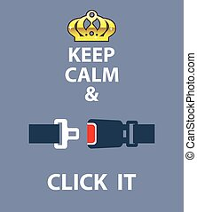 Keep Calm and Click It