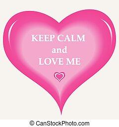 Keep Calm Love
