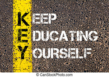 Keep Education Yourself - KEY Concept