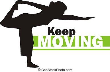 Keep moving 3