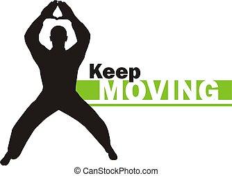 Keep moving 4