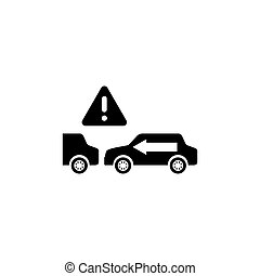 Keep Safe Distance Flat Vector Icon - Keep Safe Distance. ...