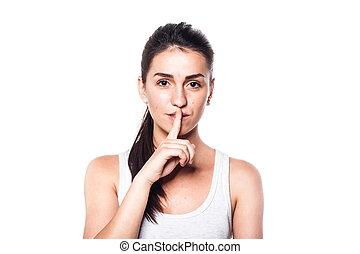 Keep silence, please!