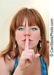 keep silence