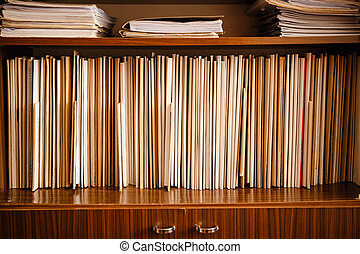 Keeping Records - Keeping Paper Records On Shelves...