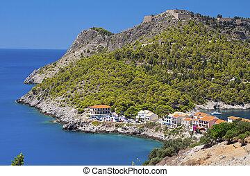 Kefalonia island in Greece