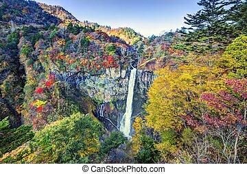 Kegon Falls in Japan