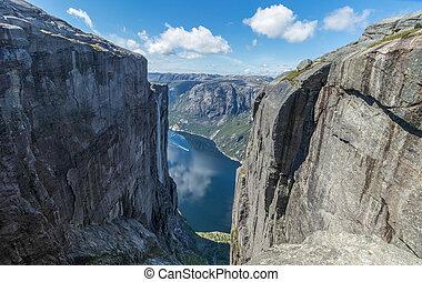 kejrag, lysefjord, vue