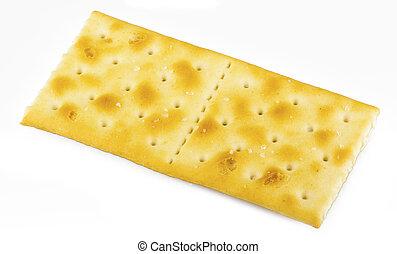 kekse, weißer hintergrund