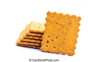 kekse, weißes, pl�tzchen, oder