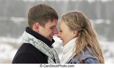 kellemes, szerelmes pár