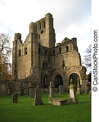 Kelso Abbey - picture of the Kelso Abbey in the Scottish...