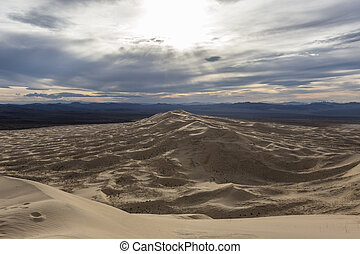 Kelso Dunes in the California Mojave Desert
