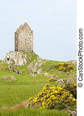 kelso, skottland, kanter, skotska språket, smailholm, torn