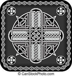 keltisch, knoop, stijl