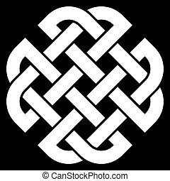 keltisch, quaternary, knoten